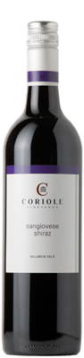 Bottle of 2010 Coriole Sangiovese/Shiraz