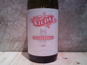 Label on Australian wine by St. Kilda