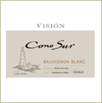 Label of Bishop's Stock Featured Wine -  Cono Sur Vision Sauvignon BLanc 2011