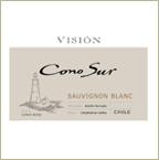 Label of Bishop's Stock Featured Wine -  Cono Sur Vision Sauvignon BLanc 2011