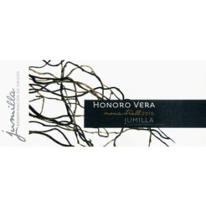 Label of Honoro Vera Monastrell from Spain