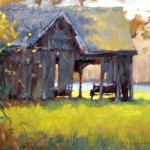 Barn painting by Carole Boggemann Peirson