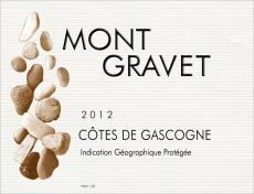 label for Mont Gravet Cotes de Gascogne