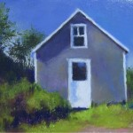 Pastel of house by Gail Higgenbotham
