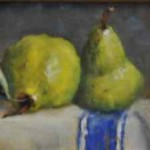 Painting of pears by Lois Engberg