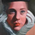painting of woman by Katie Engberg