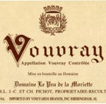 label on Pichot Vouvray
