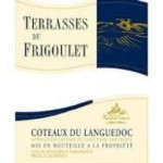 label on 2011 red blend Terrasses du Frigoulet featured at Bishop's Stock