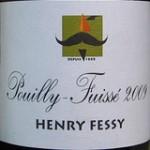 label on Fessy Pouilly Fuisse