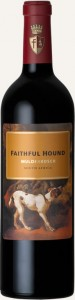 bottle shot of Mulderbosch Faithful Hound Bordeaux Blend