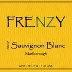 label from Frenzy Sauvignon Blanc