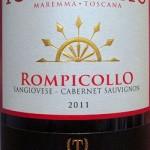 Tommasi Rompicollo featuredat Bishop's Stock