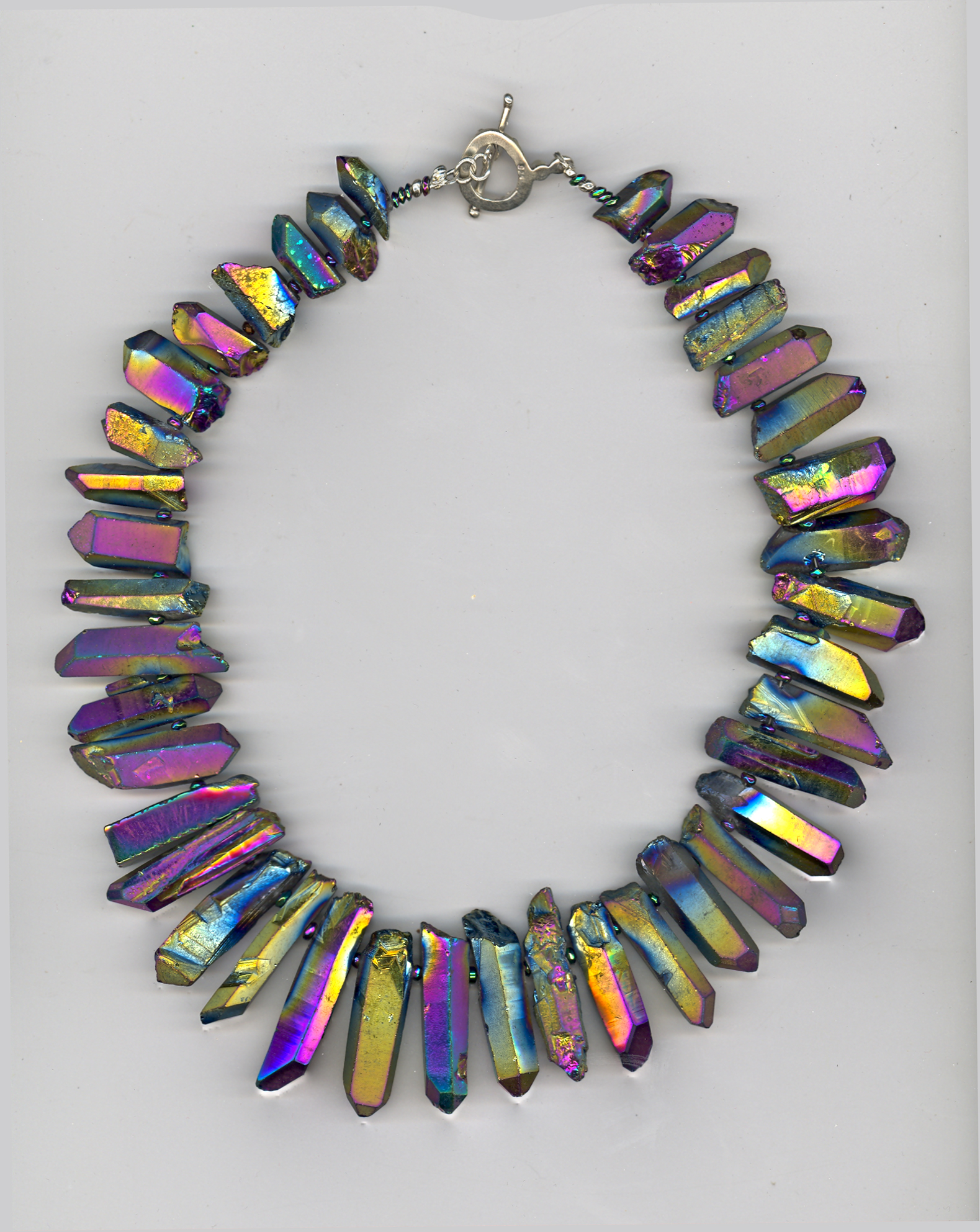 photo of necklace by Maurice Sevigny